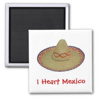 Mig hjärta Mexico Magnet