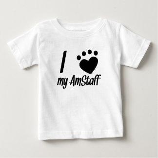 Mig hjärta min AmStaff Tee Shirt