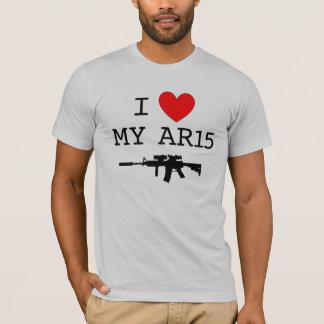 Mig hjärta min AR15 T Shirts