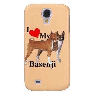 Mig hjärta min Basenji Galaxy S4 Fodral