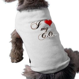 "Mig ""hjärta"" min C.O.-hund tröja"