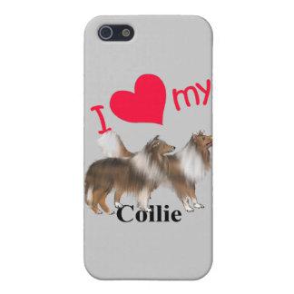 Mig hjärta min Collie iPhone 5 Hud