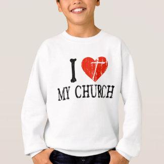 Mig hjärta min kyrka tee shirt