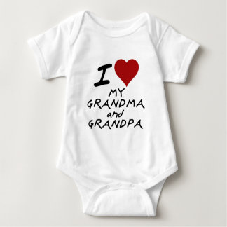 mig hjärta min mormor och morfar t shirts