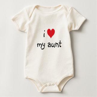 Mig hjärta min mosterskjorta body för baby