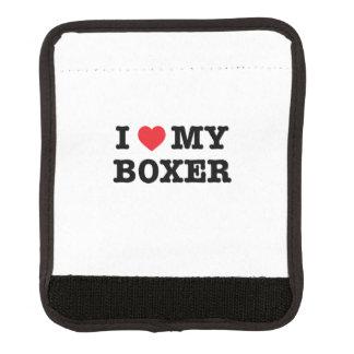 Mig hjärta min sjal för boxarebagagehandtag handtagsskydd