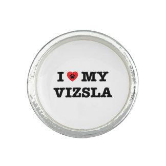 Mig hjärta min Vizsla ring