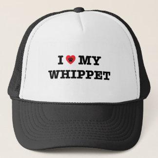 Mig hjärta min Whippet truckerkeps