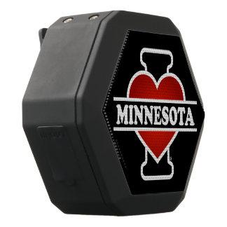 Mig hjärta Minnesota Svart Bluetooth Högtalare