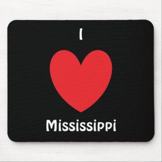 Mig hjärta Mississippi Mousepad Musmatta