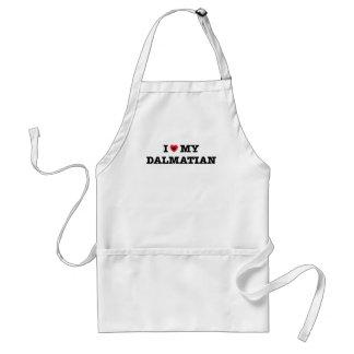 Mig hjärta mitt Dalmatian förkläde
