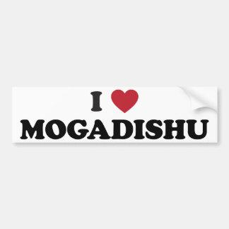 Mig hjärta Mogadishu Somalia Bildekal
