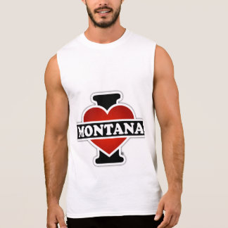 Mig hjärta Montana Ärmlösa Tees