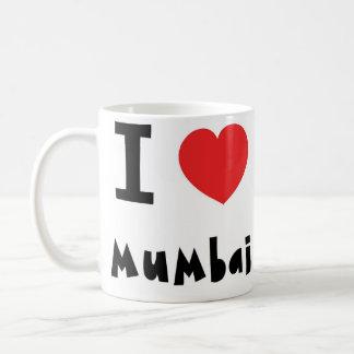 Mig hjärta Mumbai/Bombay Kaffemugg