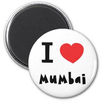 Mig hjärta Mumbai/Bombay Magnet