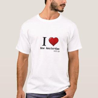 Mig (hjärta) New Amsterdam, ANNONS 1625 Tee