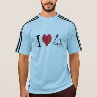 Mig hjärta Newfoundland T-shirt
