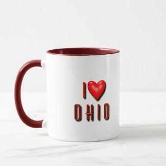 Mig hjärta Ohio Mugg