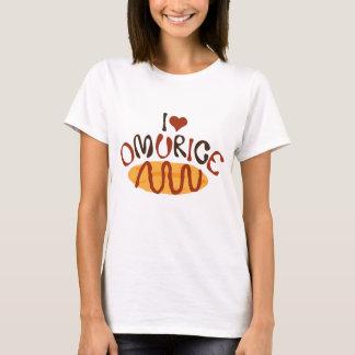Mig hjärta Omurice T Shirt