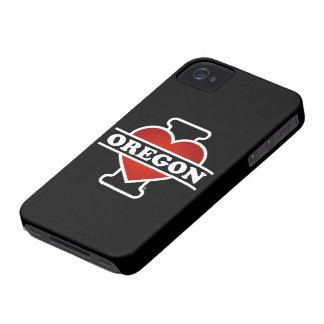 Mig hjärta Oregon iPhone 4 Case-Mate Case