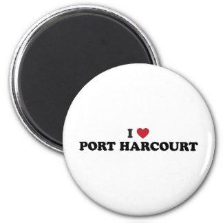 Mig hjärta Port Harcourt Nigeria Magnet