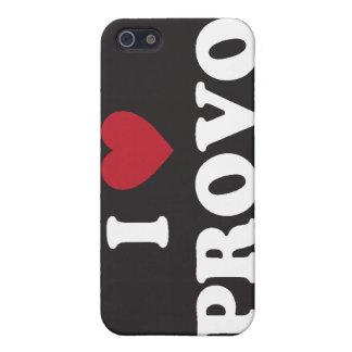 Mig hjärta Provo Utah iPhone 5 Hud