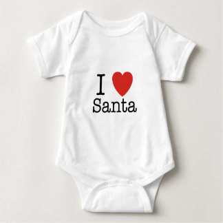 Mig hjärta Santa T Shirts