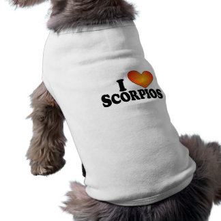 Mig (hjärta) Scorpios - hund tröja
