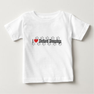 Mig (hjärta) Shetland Sheepdogs Tee Shirts