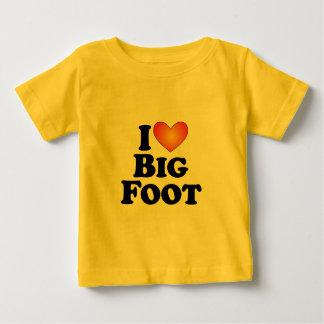 Mig (hjärta) stor fot - Lite Mång--Produkt T-tröja Tröjor