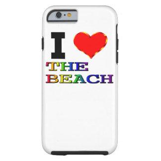 Mig hjärta stranden tough iPhone 6 case