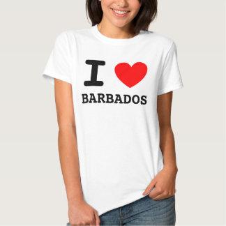 Mig hjärtaBarbados skjorta Tee