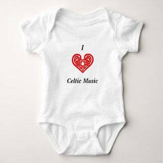 Mig hjärtaCelticmusik T-shirt