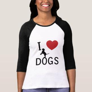mig hjärtahundar tshirts