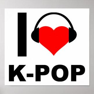 Mig hjärtaK-Pop rolig affisch