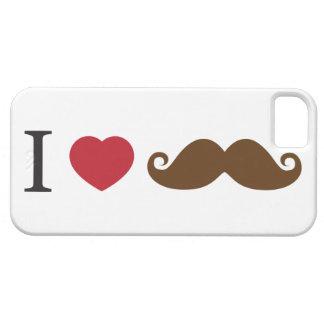 Mig hjärtamustasch fodral för iPhone 5 iPhone 5 Case-Mate Skydd