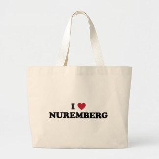 Mig hjärtaNuremberg Tyskland Tygkasse