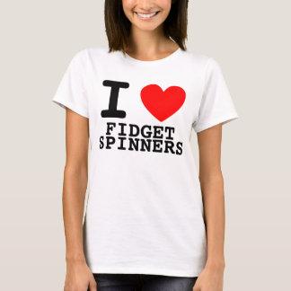 Mig hjärtarastlös människaSpinners T-shirts