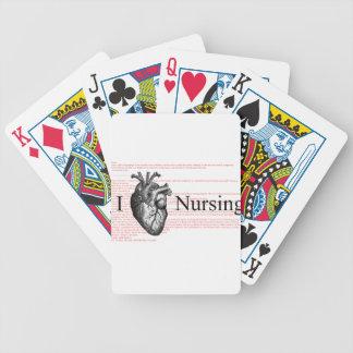 Mig hjärtasjukvård spelkort