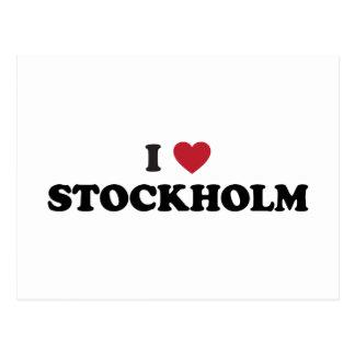 Mig hjärtaStockholm sverige Vykort