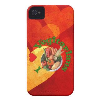 Mig hjärtavegetarian iPhone 4 Case-Mate skal