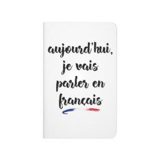 Mig i dag förmiddag som går att tala i franska 2 - anteckningsbok