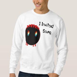 mig inbjudet bylte sweatshirt