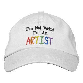Mig inte kuslig förmiddag, I-förmiddag en konstnär Keps