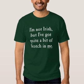 Mig irländsk - rolig Scotch Whisky - vit för T Shirt