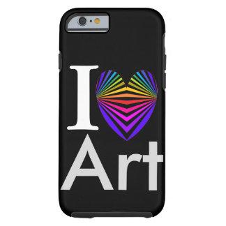 Mig konstnär Popart för valentines för Tough iPhone 6 Skal