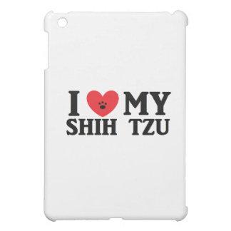 Mig ♥ min Shih Tzu iPad Mini Mobil Fodral