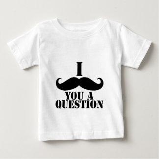 Mig Moustache dig en ifrågasätta Tröja