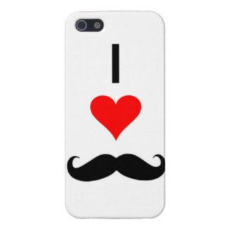 mig mustascher <3 iPhone 5 fodral
