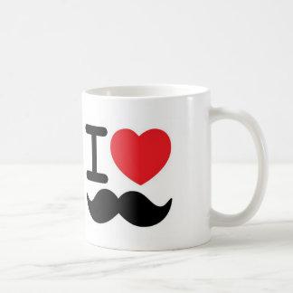 Mig mustascher 3 kaffe muggar